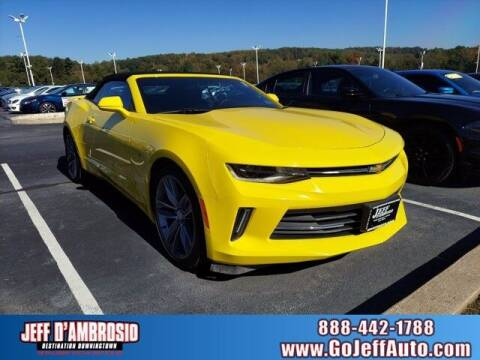 2018 Chevrolet Camaro for sale at Jeff D'Ambrosio Auto Group in Downingtown PA
