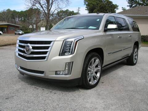 2015 Cadillac Escalade ESV for sale at South Atlanta Motorsports in Mcdonough GA