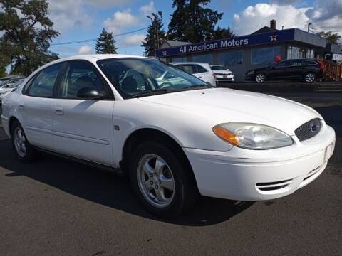 2004 Ford Taurus for sale at All American Motors in Tacoma WA