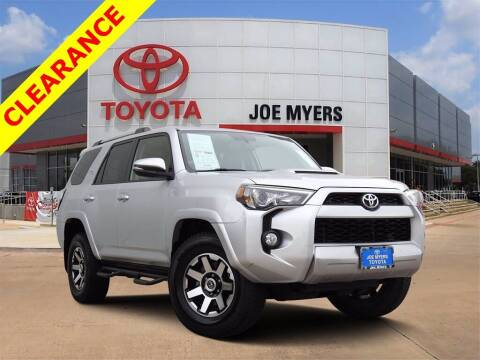 2017 Toyota 4Runner for sale at Joe Myers Toyota PreOwned in Houston TX