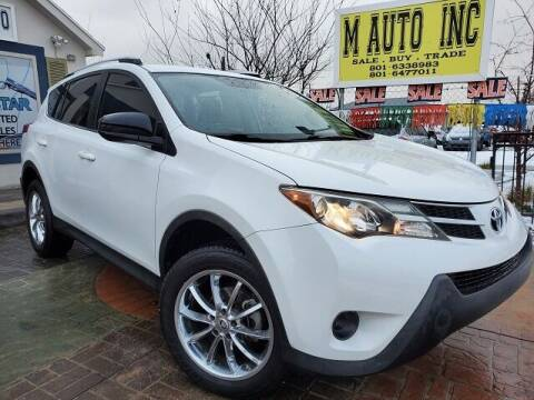 2014 Toyota RAV4 for sale at M AUTO, INC in Millcreek UT