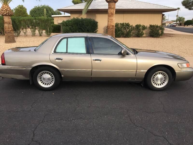 2001 Mercury Grand Marquis for sale at FAMILY AUTO SALES in Sun City AZ