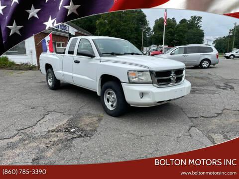 2010 Dodge Dakota for sale at BOLTON MOTORS INC in Bolton CT