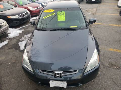 2004 Honda Accord for sale at Howe's Auto Sales in Lowell MA