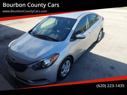 2015 Kia Forte for sale at Bourbon County Cars in Fort Scott KS