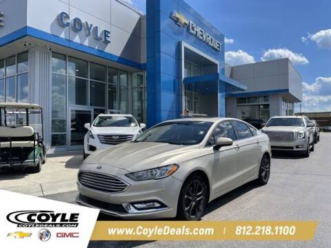 2018 Ford Fusion for sale at COYLE GM - COYLE NISSAN - New Inventory in Clarksville IN