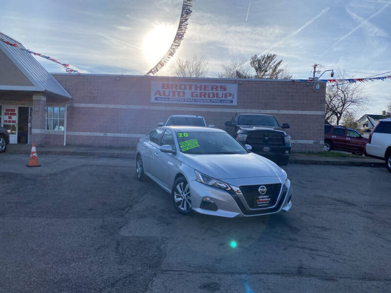 2020 Nissan Altima for sale at Brothers Auto Group in Youngstown OH