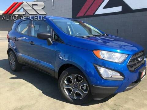 2018 Ford EcoSport for sale at Auto Republic Fullerton in Fullerton CA