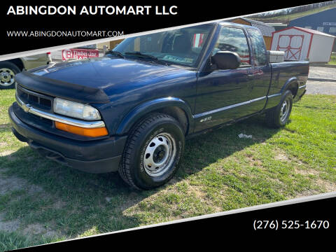 2002 Chevrolet S-10 for sale at ABINGDON AUTOMART LLC in Abingdon VA