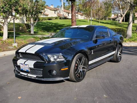 2010 Ford Shelby GT500 for sale at E MOTORCARS in Fullerton CA