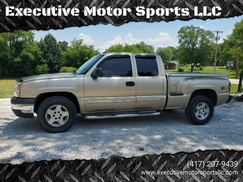 2004 Chevrolet Silverado 1500 for sale at Executive Motor Sports LLC in Sparta MO