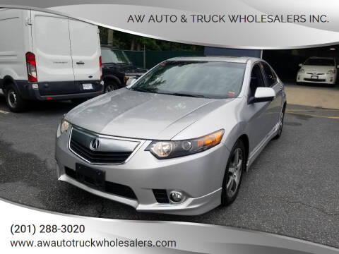 2012 Acura TSX for sale at AW Auto & Truck Wholesalers  Inc. in Hasbrouck Heights NJ
