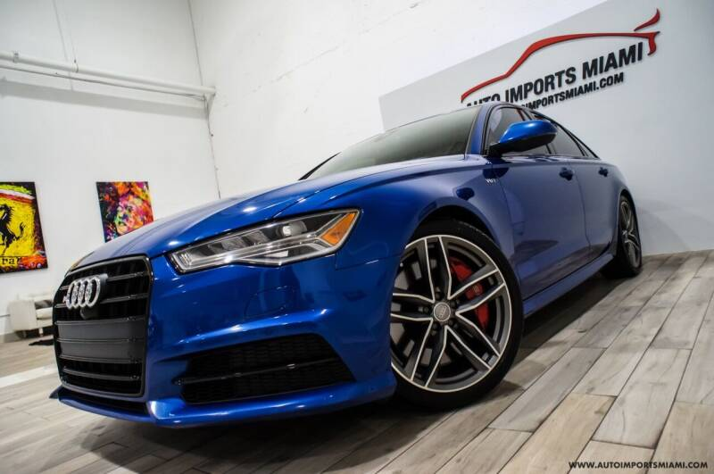2017 Audi S6 for sale at AUTO IMPORTS MIAMI in Fort Lauderdale FL