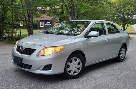 2009 Toyota Corolla for sale at JR AUTO SALES in Candia NH
