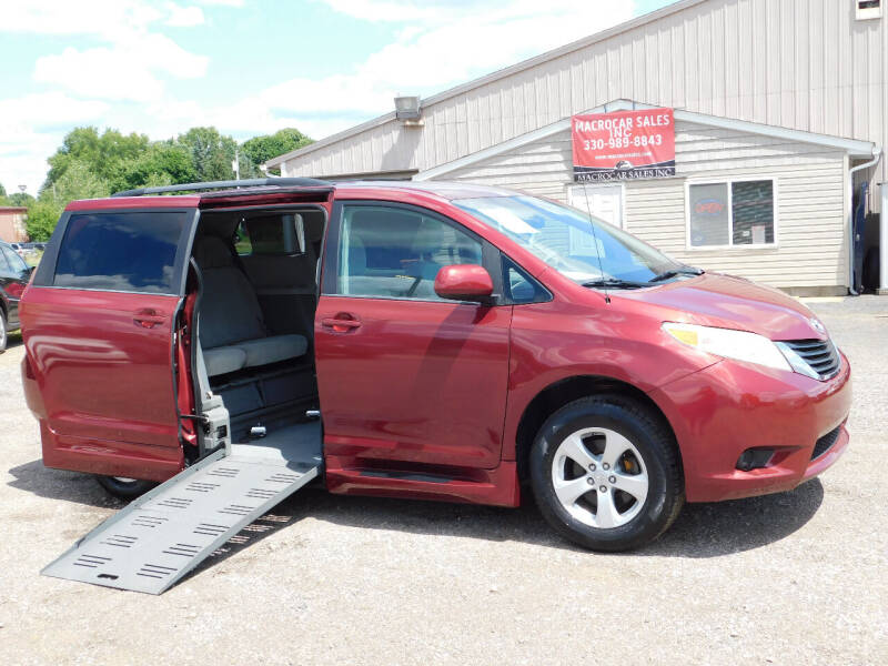 2012 Toyota Sienna for sale at Macrocar Sales Inc in Akron OH