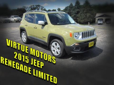 2015 Jeep Renegade for sale at Virtue Motors in Darlington WI