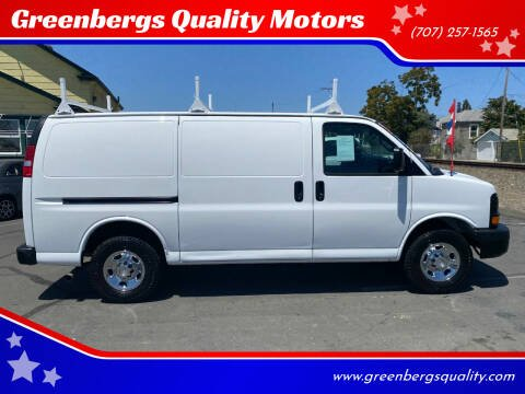 2016 Chevrolet Express Cargo for sale at Greenbergs Quality Motors in Napa CA
