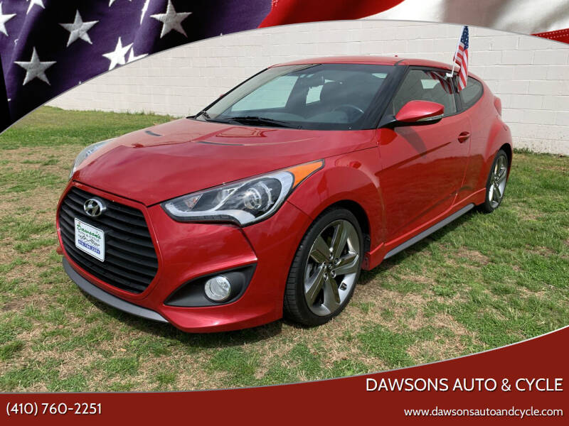 2014 Hyundai Veloster for sale at Dawsons Auto & Cycle in Glen Burnie MD