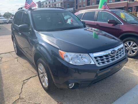 2011 Subaru Forester for sale at LOT 51 AUTO SALES in Madison WI