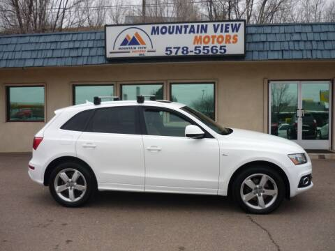 2012 Audi Q5 for sale at Mountain View Motors Inc in Colorado Springs CO