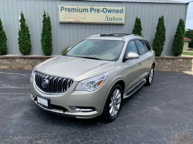 2014 Buick Enclave for sale at PREMIUM PRE-OWNED AUTOS in East Peoria IL