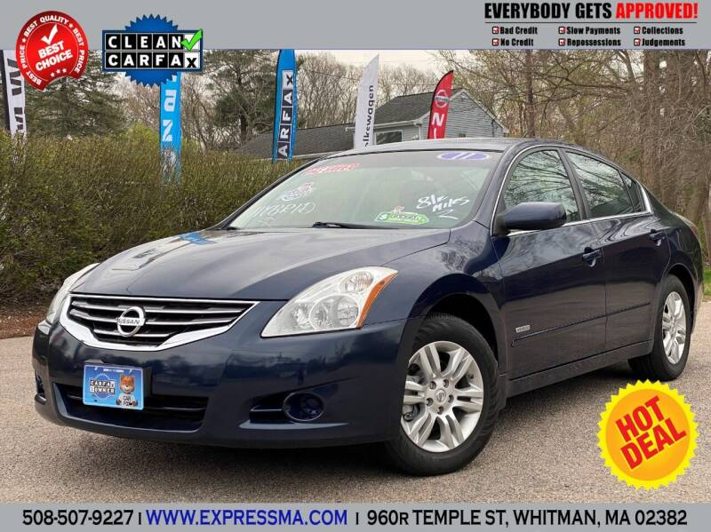 2011 Nissan Altima Hybrid for sale in Whitman, MA