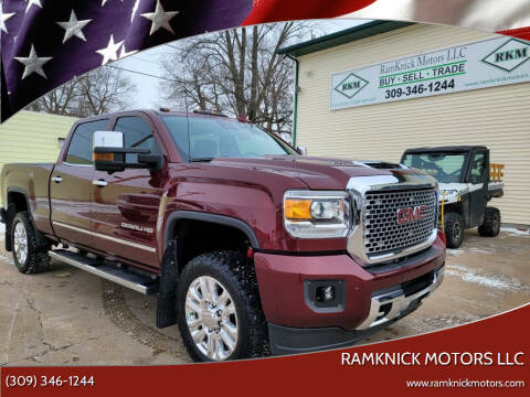 2017 GMC Sierra 2500HD for sale at RamKnick Motors LLC in Pekin IL
