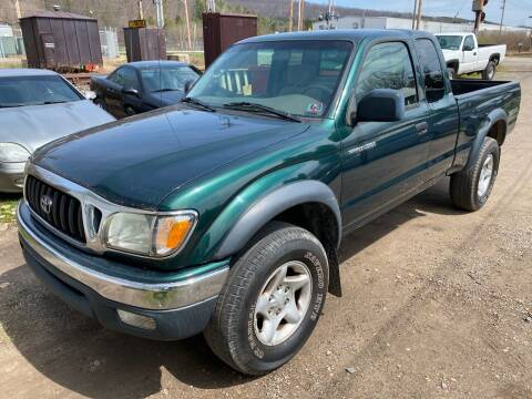 2004 Toyota Tacoma for sale at Richard C Peck Auto Sales in Wellsville NY