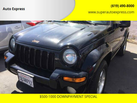 2004 Jeep Liberty for sale at Auto Express in Chula Vista CA