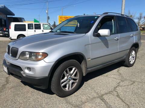 2006 BMW X5 for sale at All Cars & Trucks in North Highlands CA