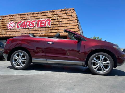 2011 Nissan Murano CrossCabriolet for sale at CARSTER in Huntington Beach CA