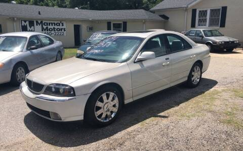 2004 Lincoln LS for sale at Mama's Motors in Greer SC
