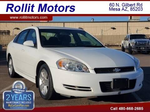 2011 Chevrolet Impala for sale at Rollit Motors in Mesa AZ
