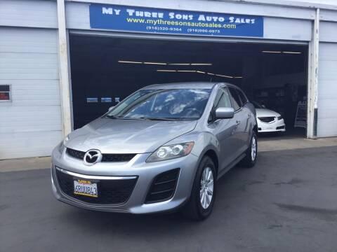 2011 Mazda CX-7 for sale at My Three Sons Auto Sales in Sacramento CA