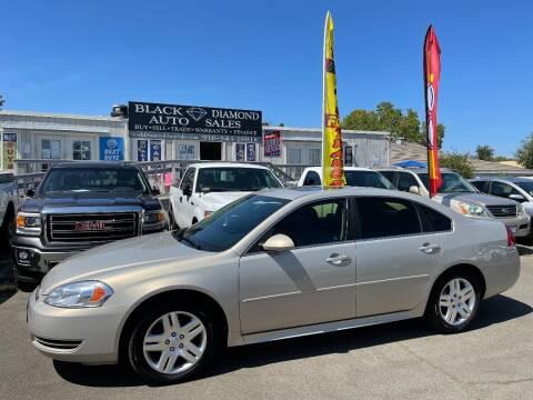 2012 Chevrolet Impala for sale at Black Diamond Auto Sales Inc. in Rancho Cordova CA