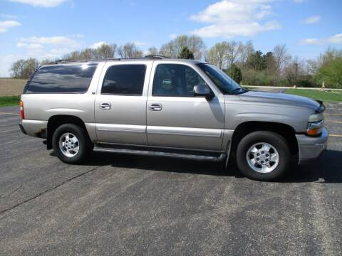 2003 Chevrolet Suburban for sale at Crossroads Used Cars Inc. in Tremont IL