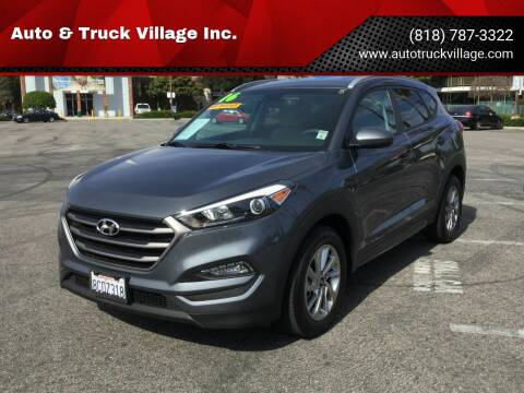 2016 Hyundai Tucson for sale at Auto & Truck Village Inc. in Van Nuys CA