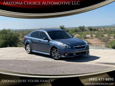 2014 Subaru Legacy for sale at Arizona Choice Automotive LLC in Mesa AZ