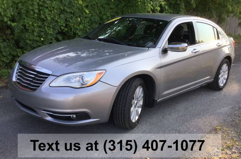 2014 Chrysler 200 for sale at Pete Kitt's Automotive Sales & Service in Camillus NY