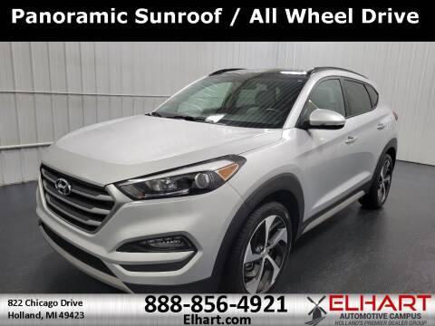 2018 Hyundai Tucson for sale at Elhart Automotive Campus in Holland MI