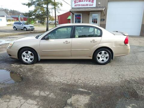 2005 Chevrolet Malibu for sale at Jim's Hometown Auto Sales LLC in Byesville OH