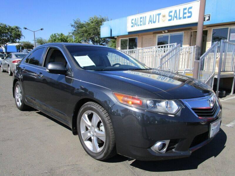 2012 Acura TSX for sale at Salem Auto Sales in Sacramento CA