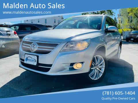 2010 Volkswagen Tiguan for sale at Malden Auto Sales in Malden MA