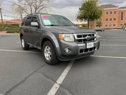 2012 Ford Escape for sale at GALLIAN DISCOUNT AUTO in St George UT