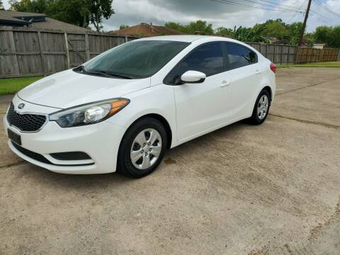 2016 Kia Forte for sale at MOTORSPORTS IMPORTS in Houston TX