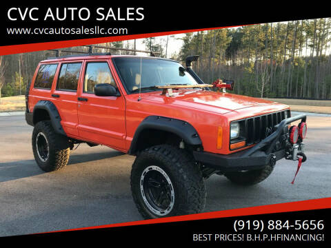 1997 Jeep Cherokee for sale at CVC AUTO SALES in Durham NC