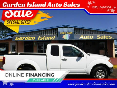 2015 Nissan Frontier for sale at Garden Island Auto Sales in Lihue HI
