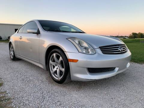 2006 Infiniti G35 for sale at Nice Cars in Pleasant Hill MO