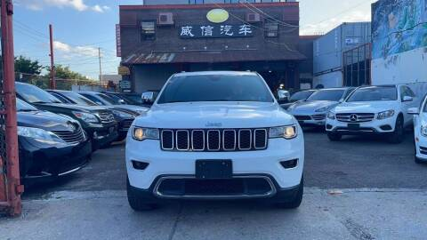 2017 Jeep Grand Cherokee for sale at TJ AUTO in Brooklyn NY