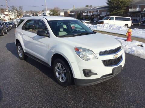 2012 Chevrolet Equinox for sale at Bromax Auto Sales in South River NJ